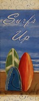 "Surf's Up by Grace Pullen - 4"" x 10"""
