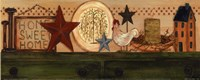 """Home, Sweet, Home by Grace Pullen - 10"""" x 4"""""""