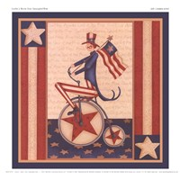 Star Spangled Boy Fine Art Print