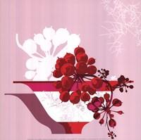 """Falling Ivy / Lierre Retombant by Jillian Jeffrey - 12"""" x 12"""""""