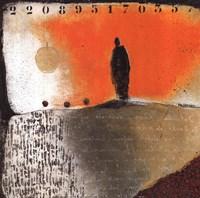 """Solitude by Jillian Jeffrey - 12"""" x 12"""""""