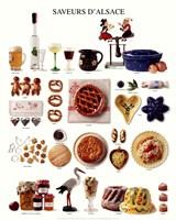 """Tastes Of Alsace by Jillian Jeffrey - 16"""" x 20"""""""