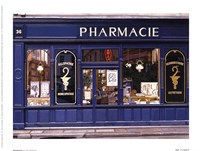 "Pharmacie by Stan Beckman - 8"" x 6"""