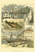 Fisherman's Vignette III Fine Art Print