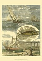 Fisherman's Vignette IV Fine Art Print