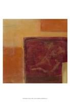 Orange Two-Step II Framed Print