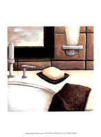Modern Bath Elements I Fine Art Print