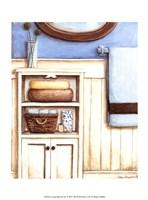 """Coastal Bath III by Megan Meagher - 10"""" x 13"""""""