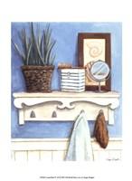 """Coastal Bath IV by Megan Meagher - 10"""" x 13"""""""