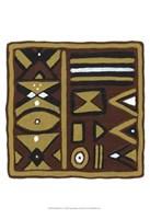 """Tribal Rhythms I by Virginia a. Roper - 13"""" x 19"""""""