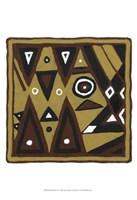 """Tribal Rhythms II by Virginia a. Roper - 13"""" x 19"""""""