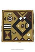 """Tribal Rhythms III by Virginia a. Roper - 13"""" x 19"""""""
