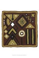 """Tribal Rhythms IV by Virginia a. Roper - 13"""" x 19"""""""