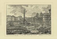 Piranesi View Of Rome V Framed Print