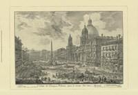 """Piranesi View Of Rome VI by Jillian Jeffrey - 19"""" x 13"""""""