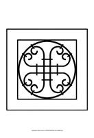 "Black And White Ironwork IV by Chariklia Zarris - 13"" x 19"", FulcrumGallery.com brand"