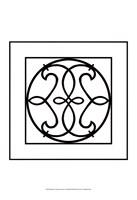 "Black And White Ironwork V by Chariklia Zarris - 13"" x 19"", FulcrumGallery.com brand"