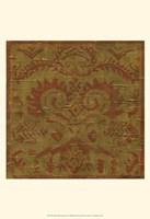 Old World Tapestry I Framed Print