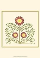 Flourishing Blossoms III Fine Art Print