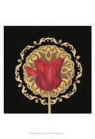 "Tulip Medallion II by June Erica Vess - 13"" x 19"""