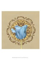 "Gilded Tulip Medallion II by June Erica Vess - 13"" x 19"""