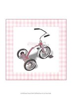 Krista's Tricycle Framed Print