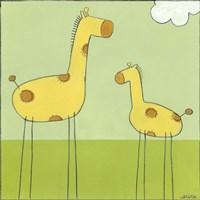 Stick-Leg Giraffe I by June Erica Vess - various sizes
