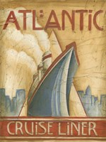 Atlantic Cruise Liner Fine Art Print