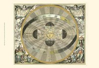 Celestial Hemispheres I Fine Art Print