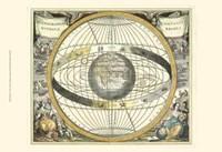 Celestial Hemispheres II Framed Print