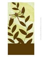 """Dragonfly Whimsey I by Jennifer Goldberger - 10"""" x 13"""""""