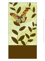 """Butterfly Whimsey I by Jennifer Goldberger - 10"""" x 13"""""""