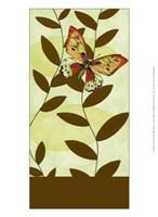 "Butterfly Whimsey II by Jennifer Goldberger - 10"" x 13"""