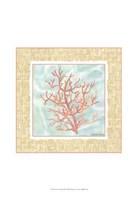 Ocean Coral Framed Print