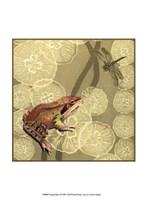 Frog Fable I Framed Print