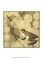 """Frog Fable II by Vision Studio - 10"""" x 13"""""""