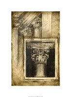 Classical Influence II Framed Print