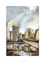 "Urban Terrain II by Megan Meagher - 22"" x 30"""