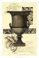 """Transitional Sepia Urn I by Vision Studio - 20"""" x 30"""""""