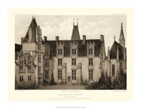 "Petite Sepia Chateaux I by Victor Petit - 18"" x 14"""