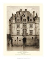 "Petite Sepia Chateaux V by Victor Petit - 14"" x 18"""
