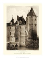 "Petite Sepia Chateaux VII by Victor Petit - 14"" x 18"""
