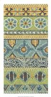 "Eastern Embroidery I by Chariklia Zarris - 14"" x 26"""