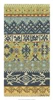 """Eastern Embroidery II by Chariklia Zarris - 14"""" x 26"""""""