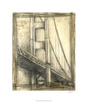 "Golden Gate Bridge by Ethan Harper - 22"" x 26"""