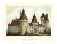 "Petite French Chateaux I by Victor Petit - 18"" x 14"""