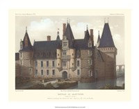 "Petite French Chateaux II by Victor Petit - 18"" x 14"""
