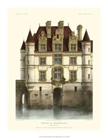 "Petite French Chateaux IX by Victor Petit - 14"" x 18"""