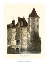 "Petite French Chateaux X by Victor Petit - 14"" x 18"""