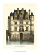 "Petite French Chateaux XI by Victor Petit - 14"" x 18"""